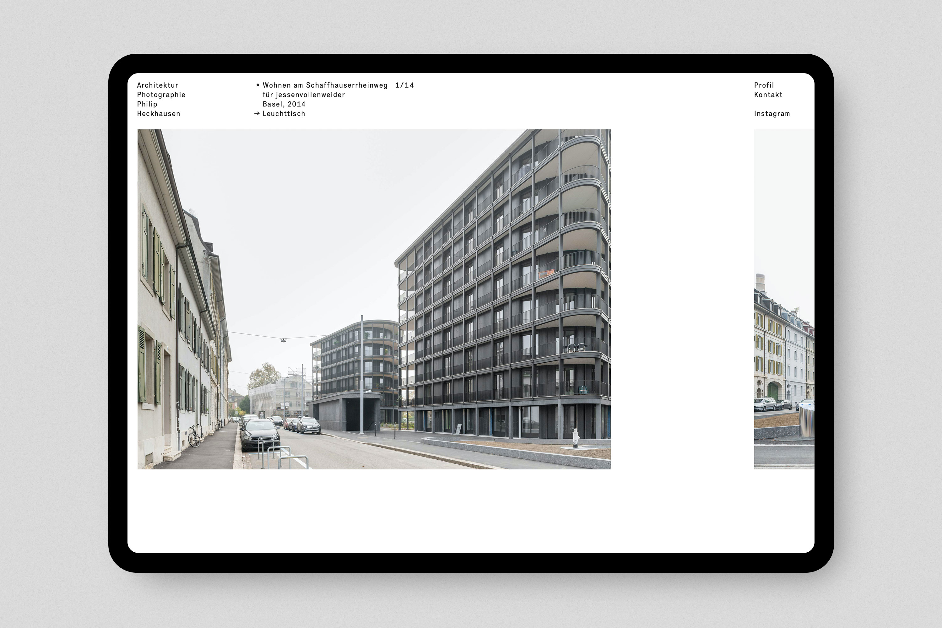 Philip Heckhausen Architektur Photographie